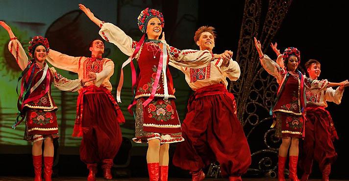 Русский народный танец и костюм