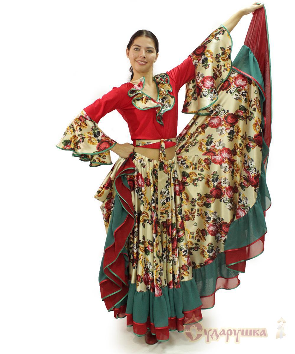 Новогодний костюм цыганки