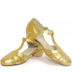 Sandals M100 combined gold