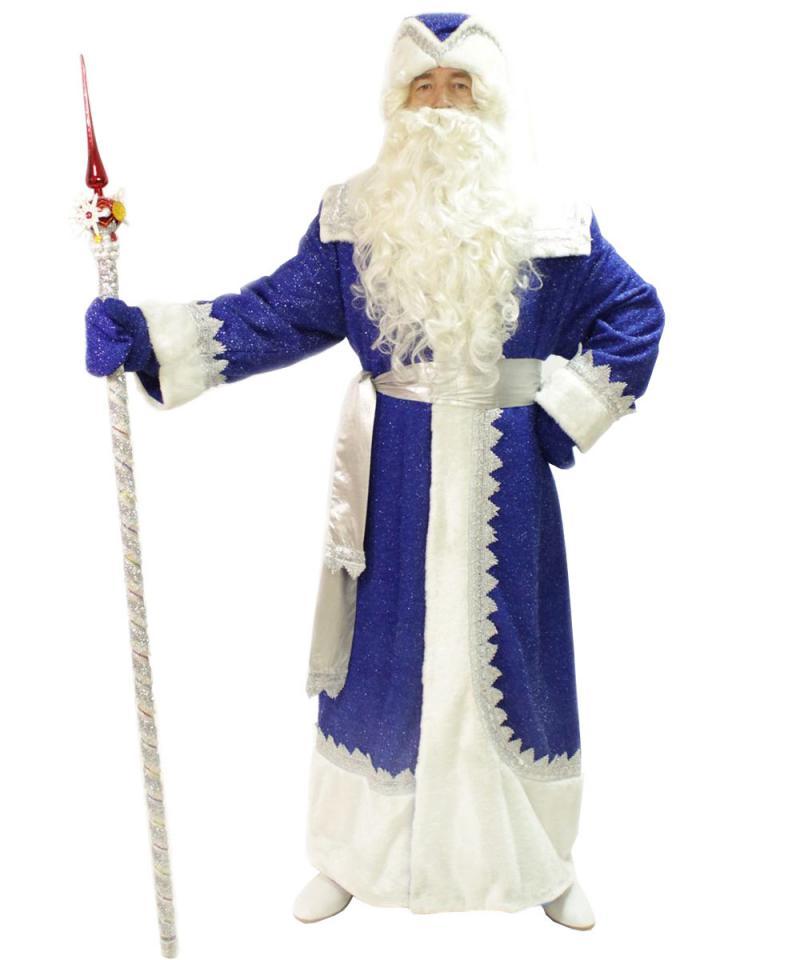 теперь муж картинка деда мороза в синем костюме клуб лазерного