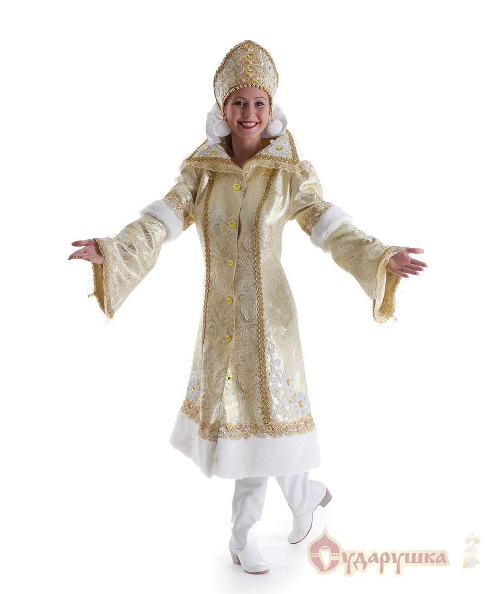 Купить костюм Снегурочки. Модель «Боярская» - photo#48