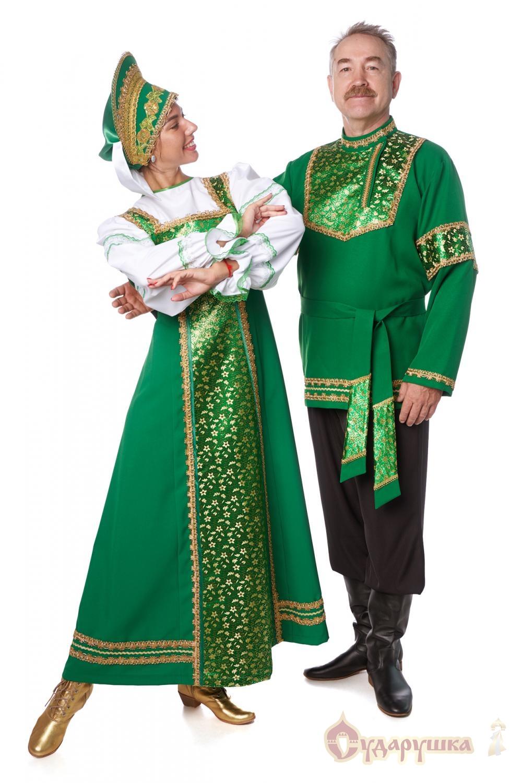описание русского женского костюма