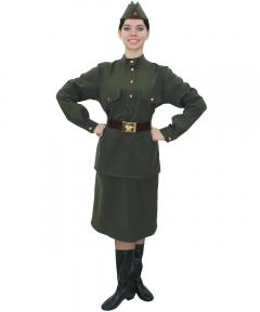 Female military costume