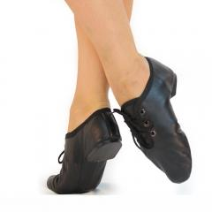 Jazz shoes black leather